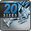 20 Sizes – Visual Test